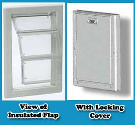 Insulated Pet Doors